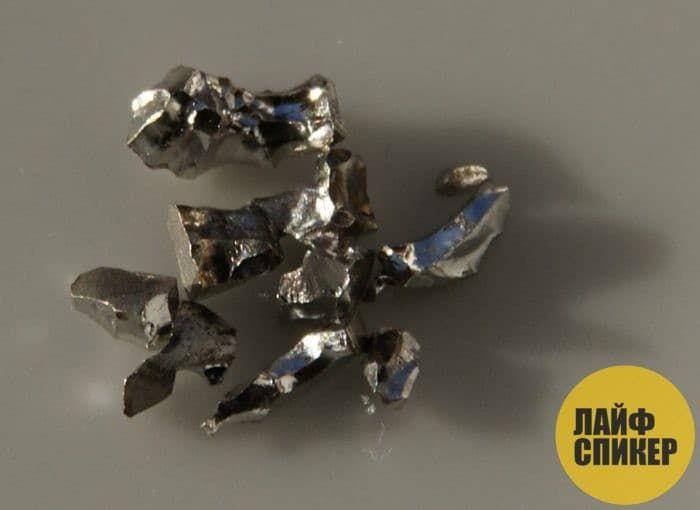 Самый твердый радиоактивный металл на Земле