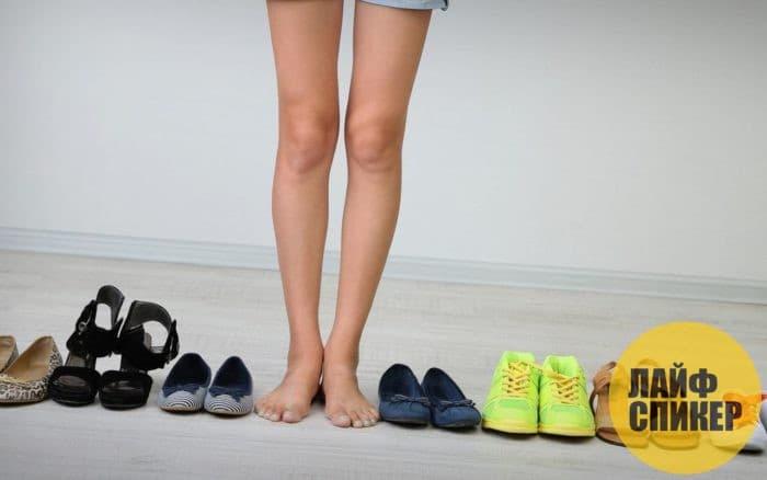 Причины появления в обуви неприятного запаха