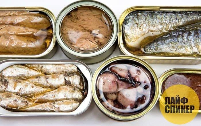 Как правильно выбрать рыбные консервы. Советы