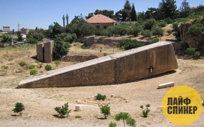 Южный камень Баальбек (Ливан)