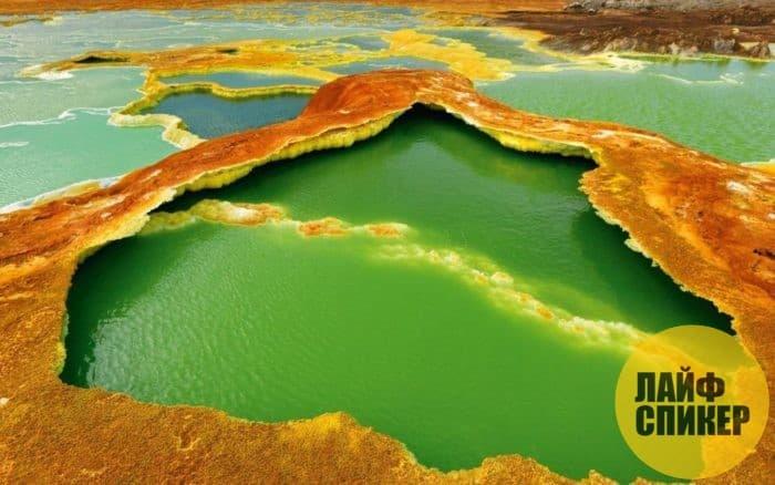 Пустыня Данакиль, Эфиопия
