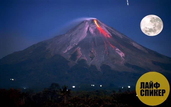 Огненная гора, Индонезия