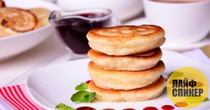 Пышные оладьи на кефире - лучшие рецепты