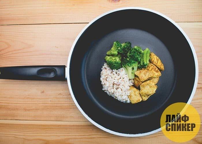 Употребляйте исключительно домашнюю пищу