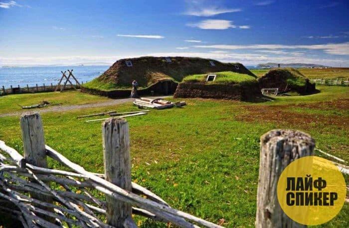 Поселения викингов в Америке