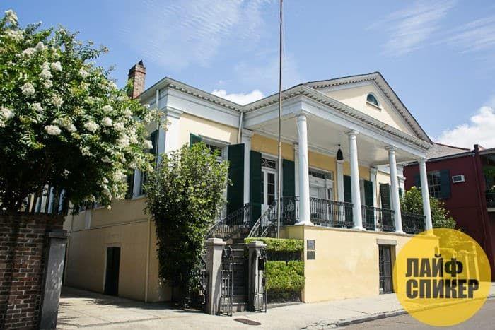 Новоорлеанская вилла Beauregard house