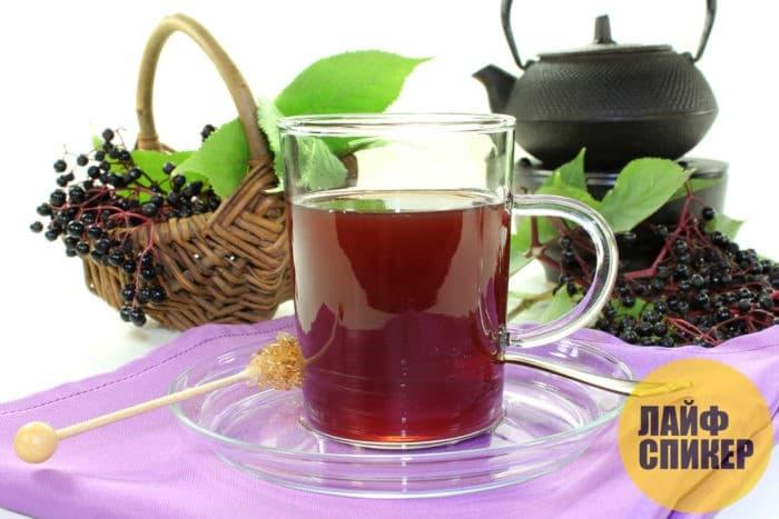 Сироп и чаи из бузины