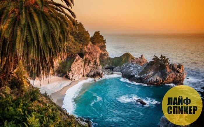 Берег Калифорнии, США