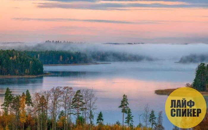Самое большое пресноводное озеро Европы