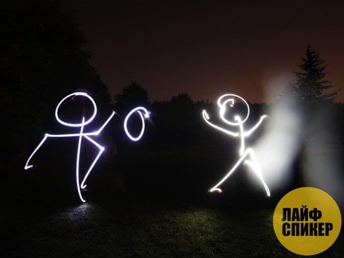 Рисование светом - Фото 3