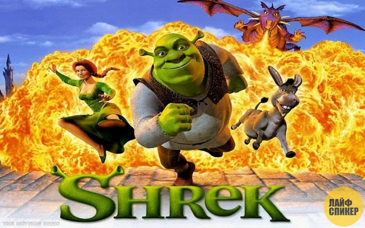 in the movie shrek directed by