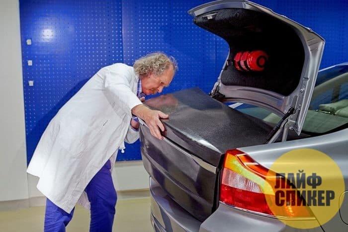 Энергетические панели Volvo.