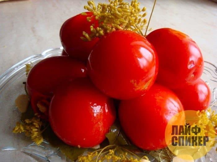 Как сохранить томаты целыми