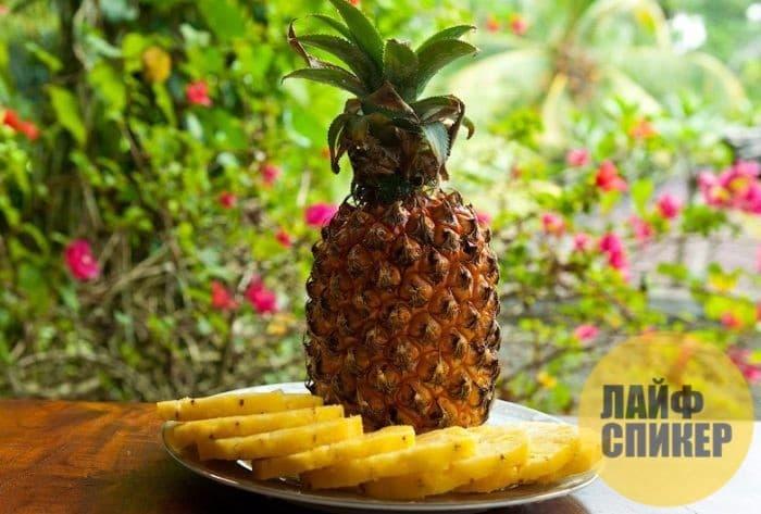 Лайфхак при выборе ананаса