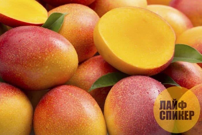 Лайфхак при выборе манго