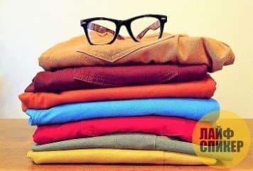 Хранение одежды из хлопка