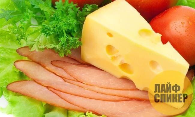 Formatge i carn