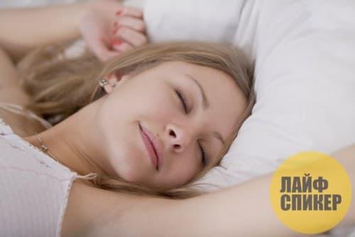 5. Здоровый и правильный сон