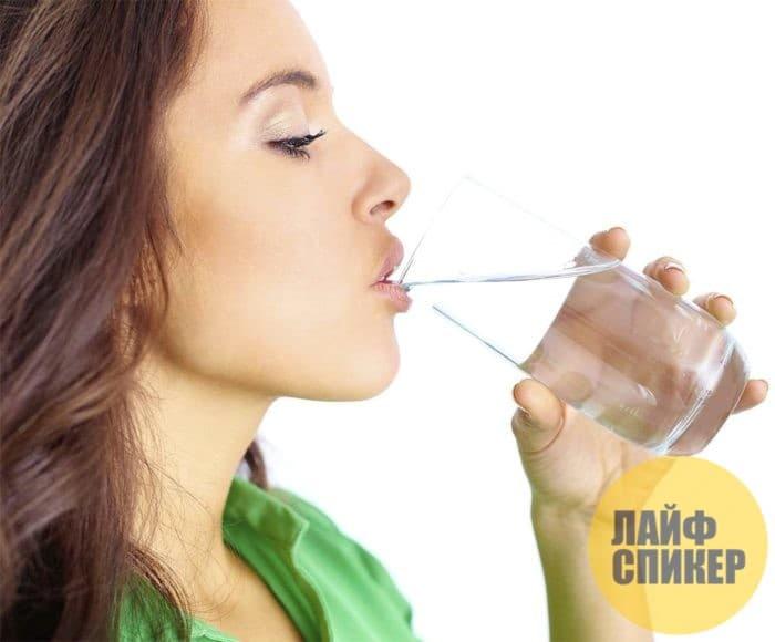 8. Употребляйте много жидкости