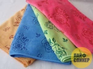 Правильное полотенце