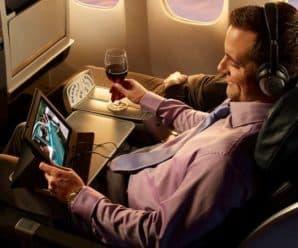 Služby TOP-8 zdarma v letadle