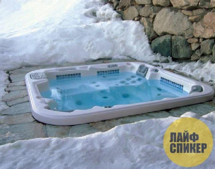 Ванна для круглогодичного использования