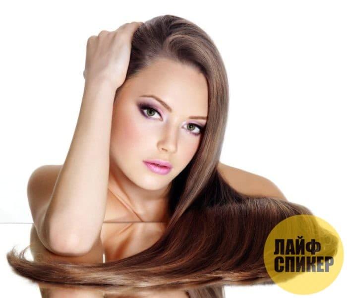 Густые длинные и шелковистые волосы