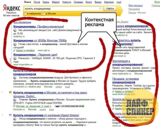 Где размещают рекламу в «Яндекс Директ»