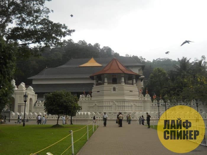 Заехать в Храм Зуба Будды