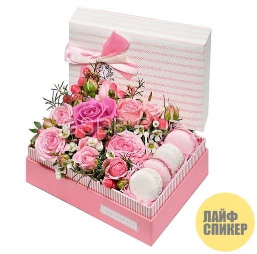 В какие коробки помещают цветы
