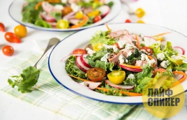 Salad rejim alimantè Byennèt