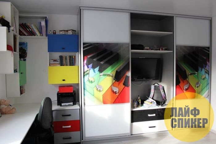 Шкафы и системы хранения