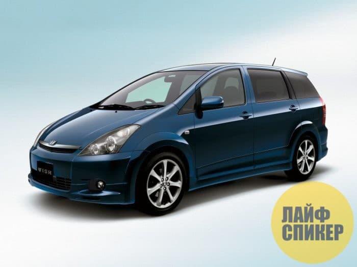 Обзор автомобиля Toyota Wish
