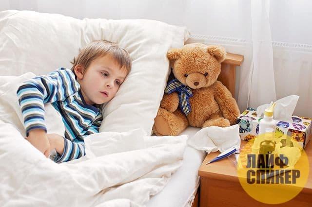 Почему ребёнок часто болеет?