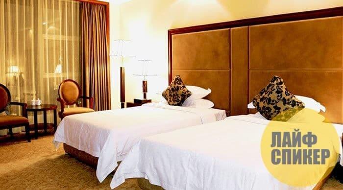 Почему в отелях белое постельное белье?