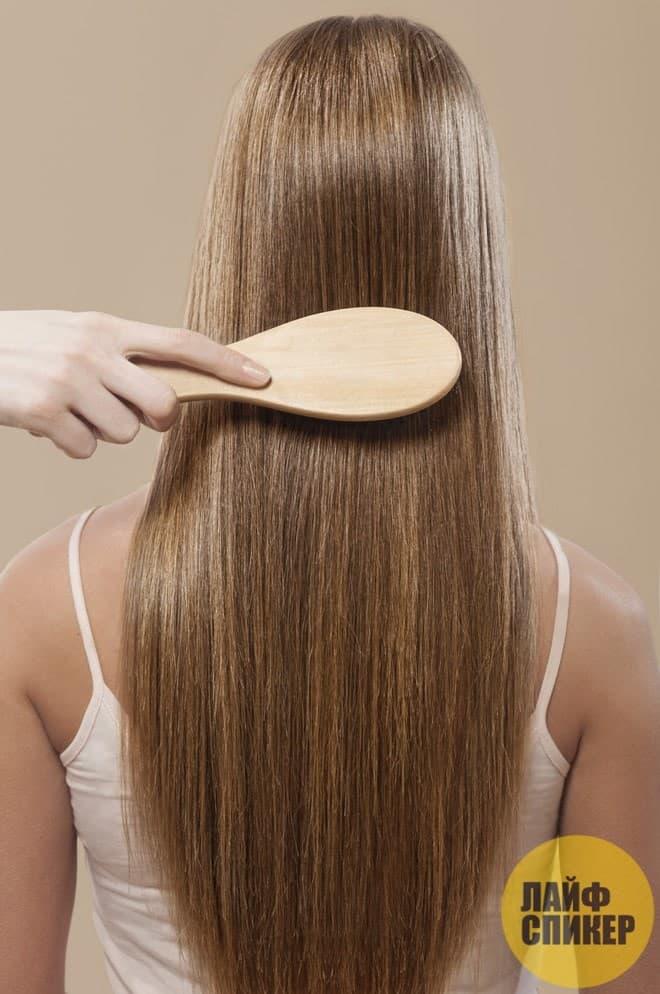 Натуральные щетинки стимулируют кожу головы