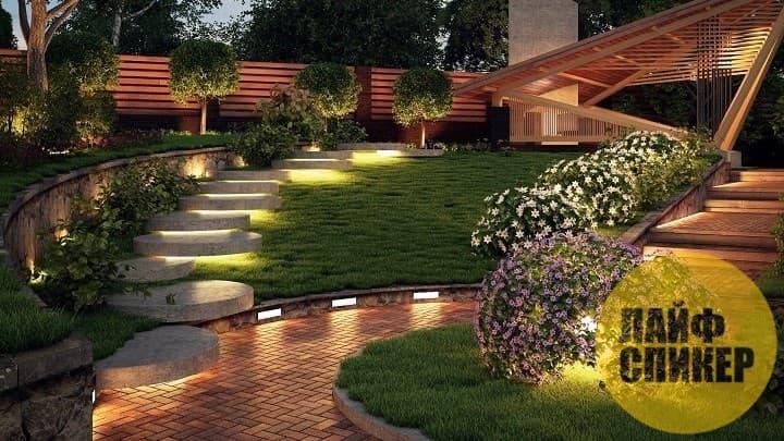 Правильное садовое освещение