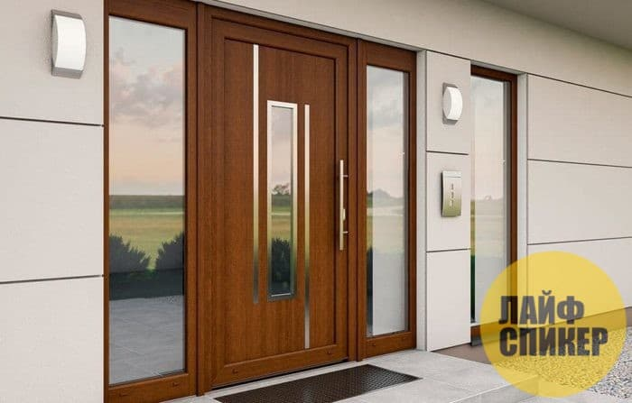 Особенности двухстворчатых входных дверей