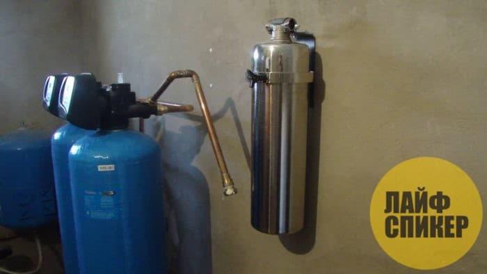 Как сделать фильтр для очистки воды в Москве