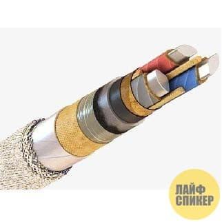 Основные технические характеристики кабеля ААБЛ 3х240