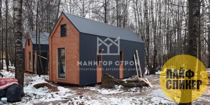 Каркасно-панельные и каркасно-рамочные деревянные дома