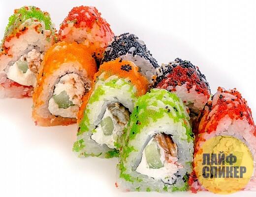 Заказать суши и роллы в Чите